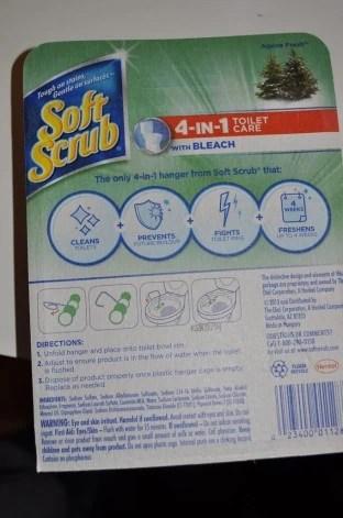 Soft Scrub 4-in-1 Toilet Care