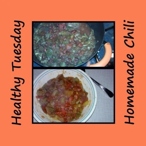 Healthy Tuesday – Homemade Chili