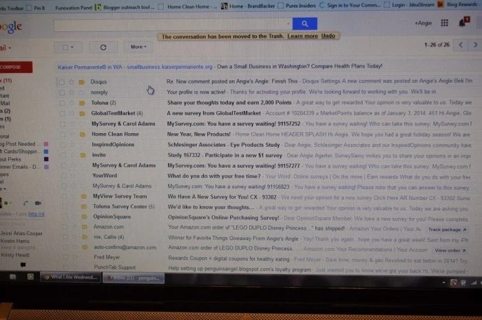 Email Struggle