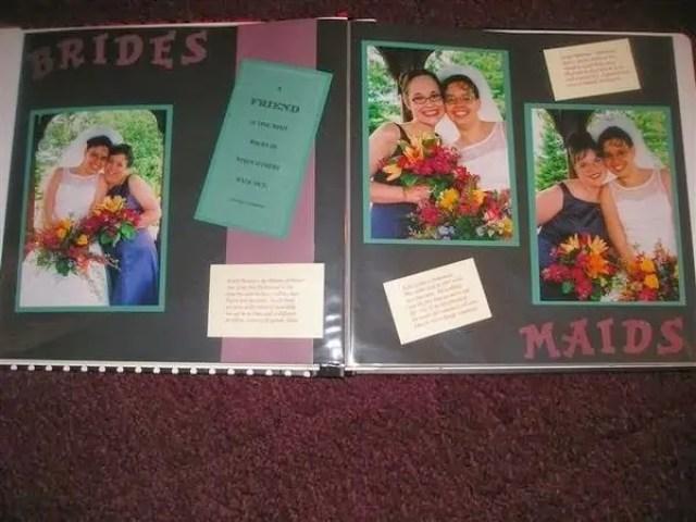 wedding with bridesmaids