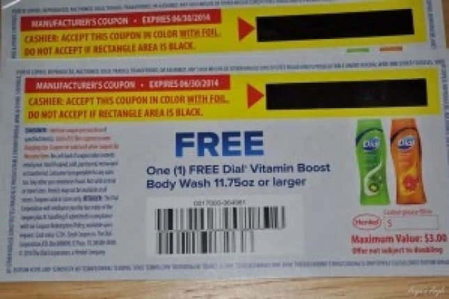 Dial Body Wash Coupons for Giveaway