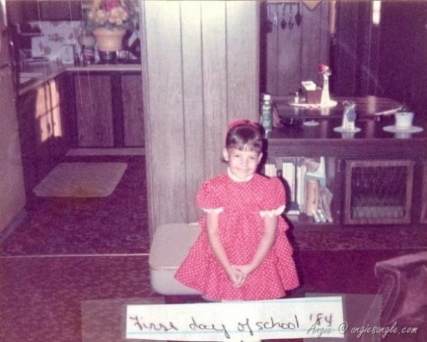 1984 - First Day of School - Angie's Angle