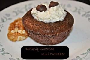 Heavenly Surprise Mini Cupcakes