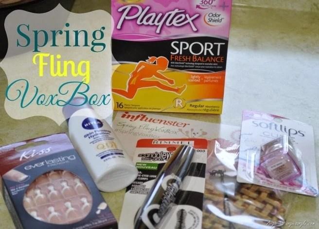 Spring Fling Vox Box from Influenster