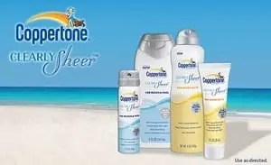 Coppertone Clearly Sheer from Bzz Agent
