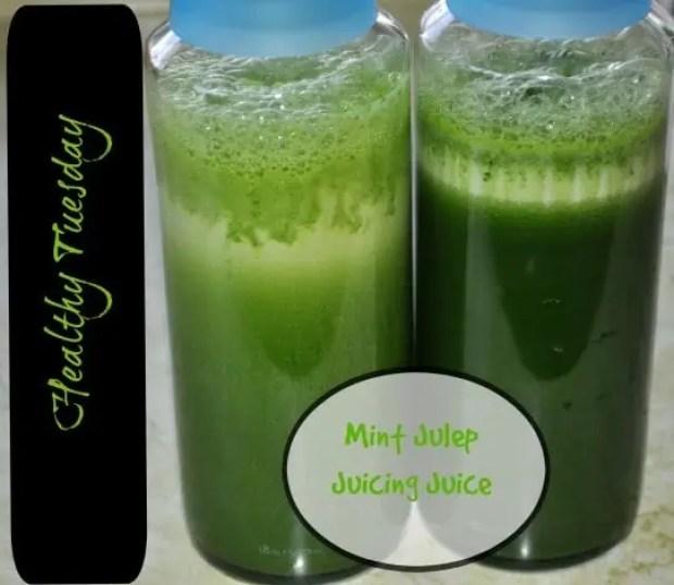 Mint Julep Juicing Juice