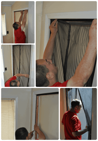 Magnetic Screen Door by IGotTech Review #magneticscreendoor