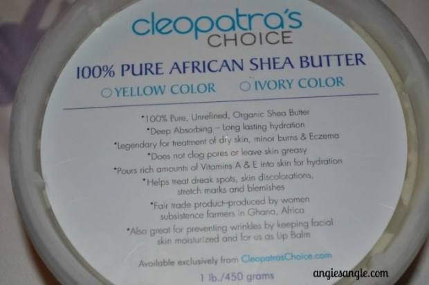 Pure Shea Butter Review by Cleopatras Choice