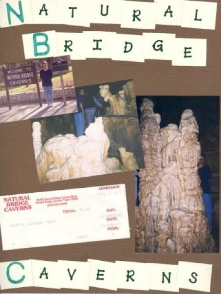 Places I Have Traveled Natural Bridge Caverns in 1998