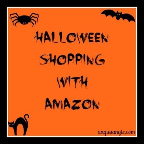Halloween Shopping with Amazon