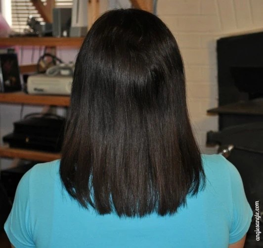 Hinoki 4-Step System for Thinning Hair - Month Two Back of Hair