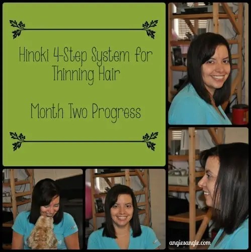 Second Month into a 3 Month Hair Challenge with System Hinoki #hinokioil