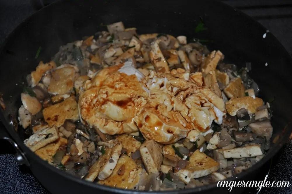 EZ Tofu Press - Tofu Stroganoff added sour cream