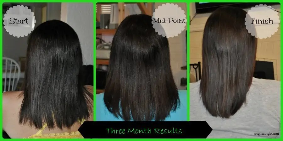 Hinoki 4-Step System for Thinning Hair - Final Hair Results