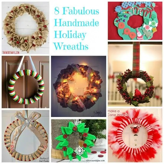 8 Holiday Wreaths that will add Holiday Cheer to your Home