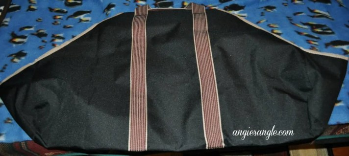 Astor Canvas Log Carrier - Laying Flat