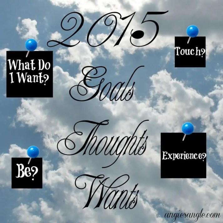 2015 Personal Goals