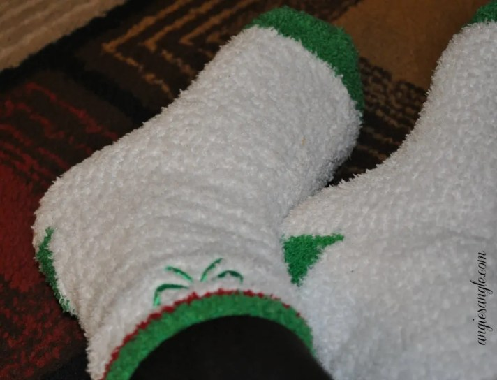 Catch the Moment 365 - Day 1 - Aloe Socks