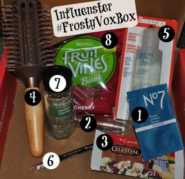 Influenster Frosty VoxBox