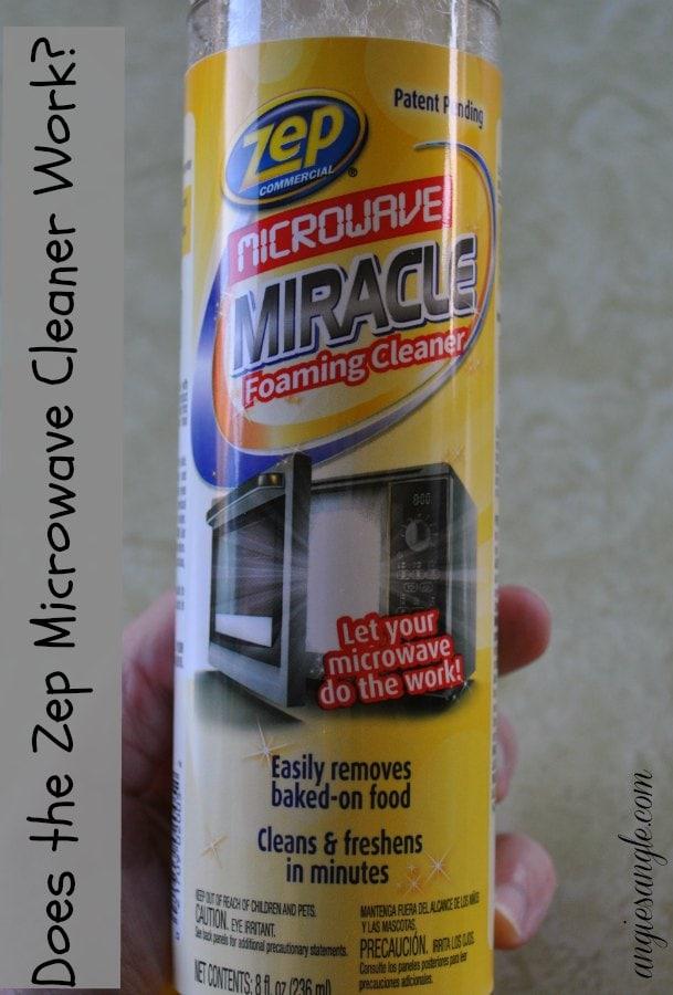 Zep Microwave Cleaner - Does it Work
