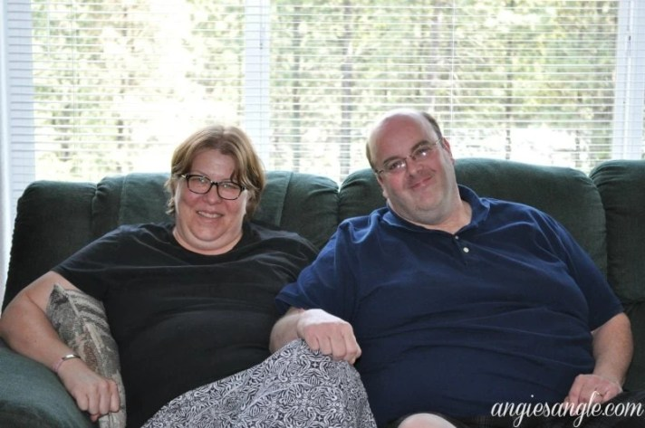 Catch the Moment 365 - Day 128 - Mary and Richie