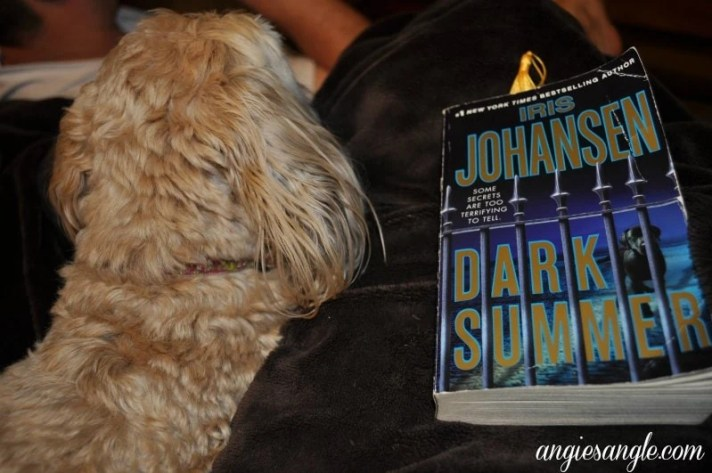 Catch the Moment 365 - Day 138 - Current Book and My Side Kick
