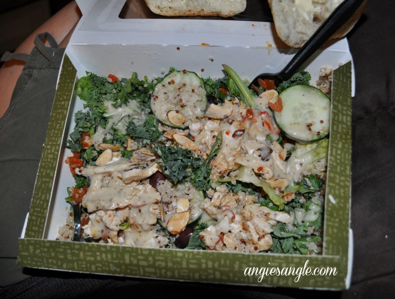 Catch the Moment 365 - Day 182 - Panera Salad