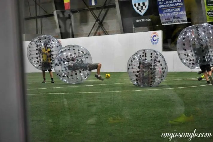 Catch the Moment 365 - Day 205 - KnockerBall at Salmon Creek Indoor Soccer