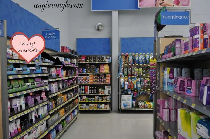 Spice It Up With Your Partner - Walmart Aisle Two - K-Y Yours+Mine