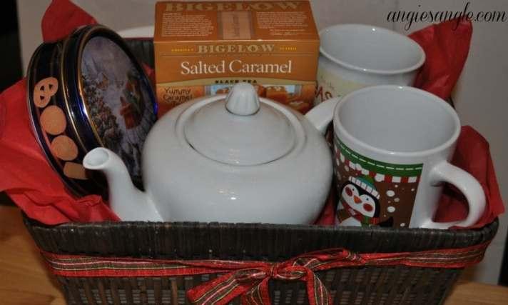 How To Make A Tea Lovers Basket - Tea Basket Complete