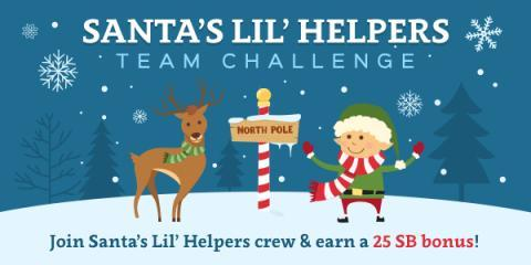 Santa's Lil Helpers Team Challenge