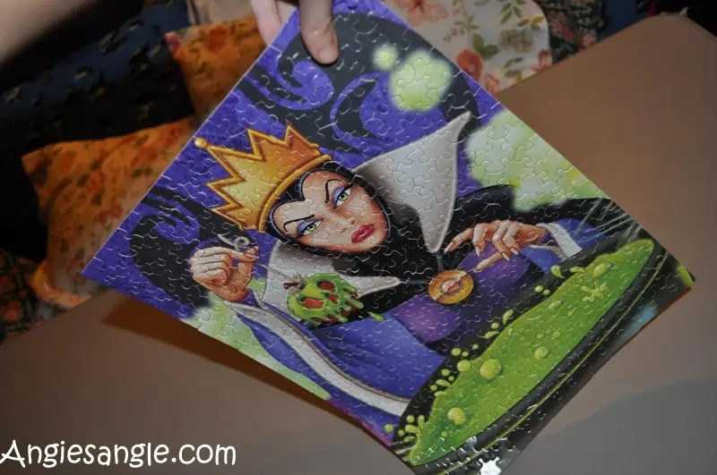 Catch the Moment 365 - Day 363 - Disney Villains - First 300 Puzzle