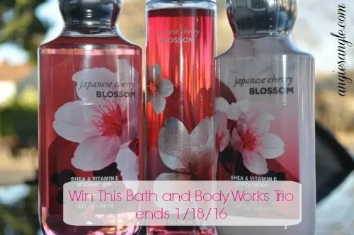 Jeepers, Its January Blog Hop - Bath and Body Works Trio