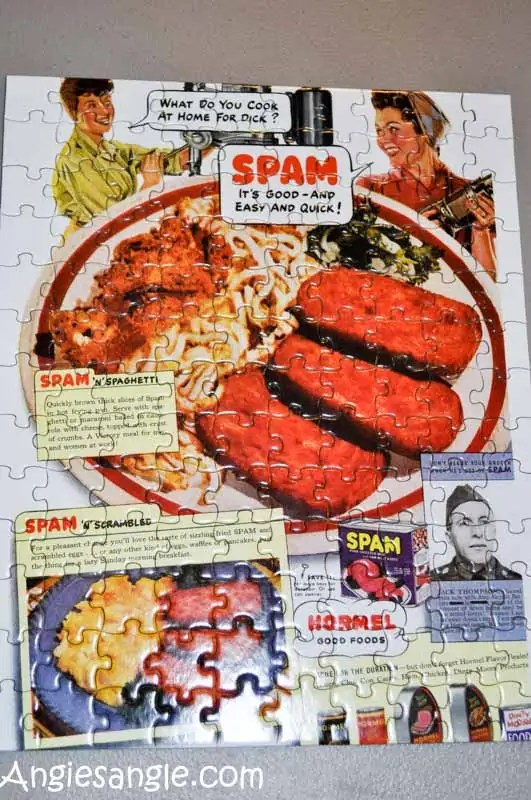 Catch the Moment 366 Week 5 - Day 30 - Spam Puzzle