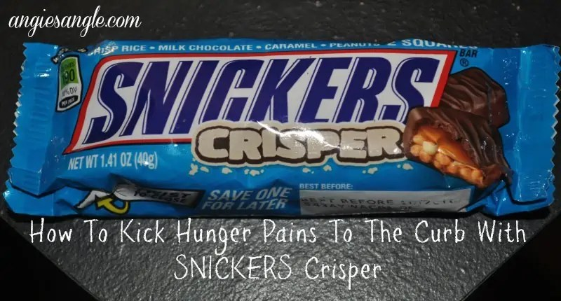 How To Kick Hunger Pains To The Curb With SNICKERS Crisper