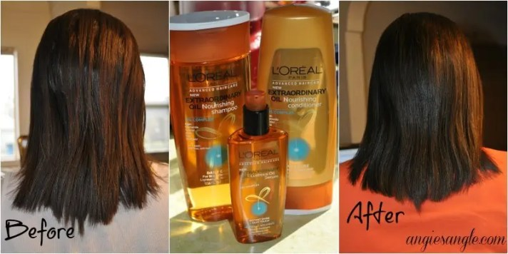 My Results With L'Oreal Extraordinary Oil