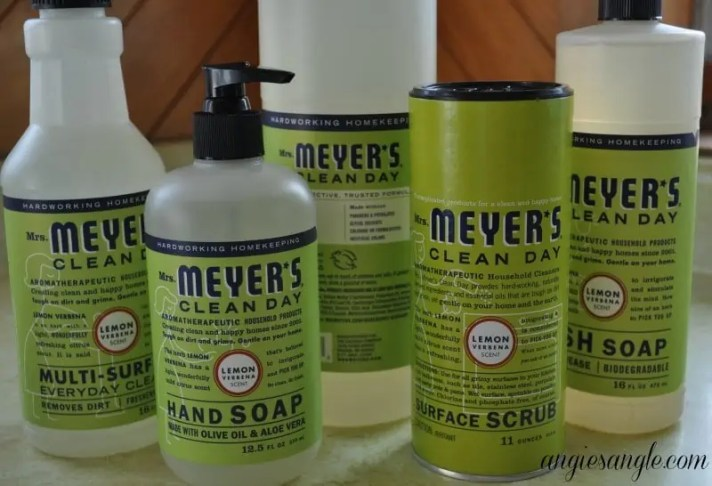 Take The Chore Out Of Cleaning - Line of Mrs Meyers Clean Day products