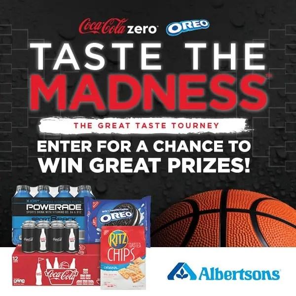 Coke Zero & OREO NCAA Tournament Prize Time