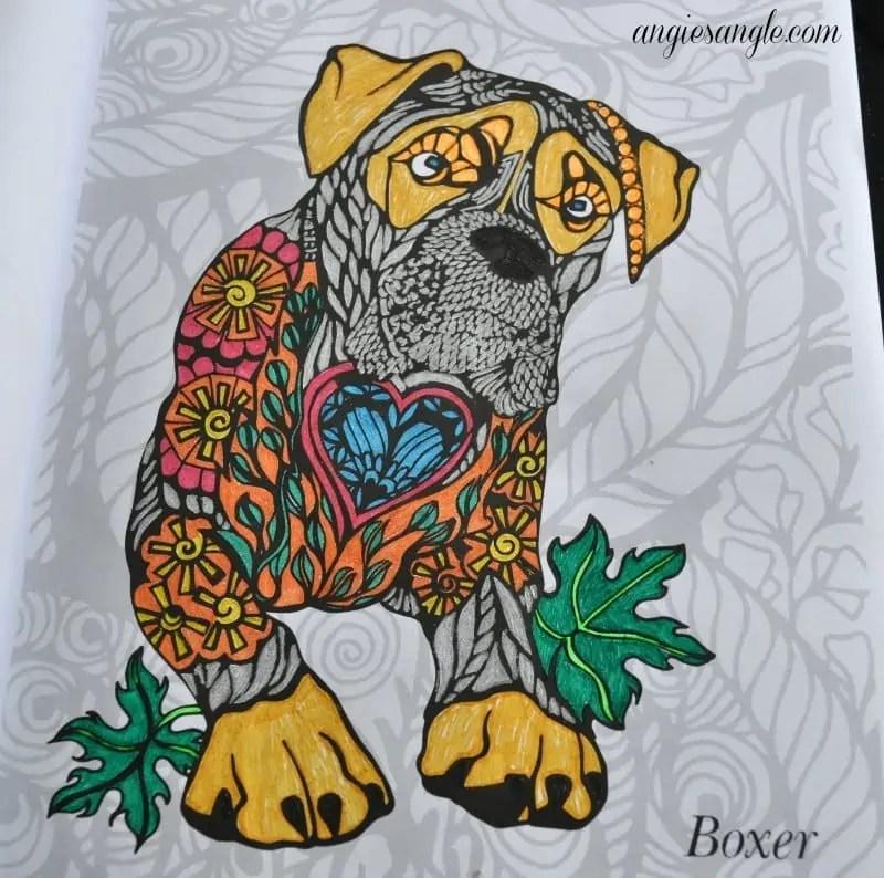 Dogs Art Coloring Book #DogsArtColoringBook