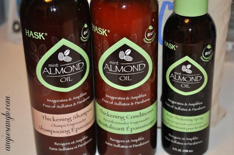Hask Mint Almond Oil Thickening Trio #BeautyMonday