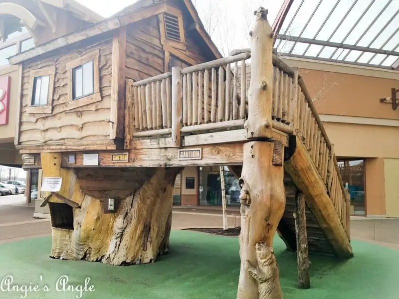 2017 Catch the Moment 365 Week 8 - Day 54 - Treehouse at Woodburn Outlets