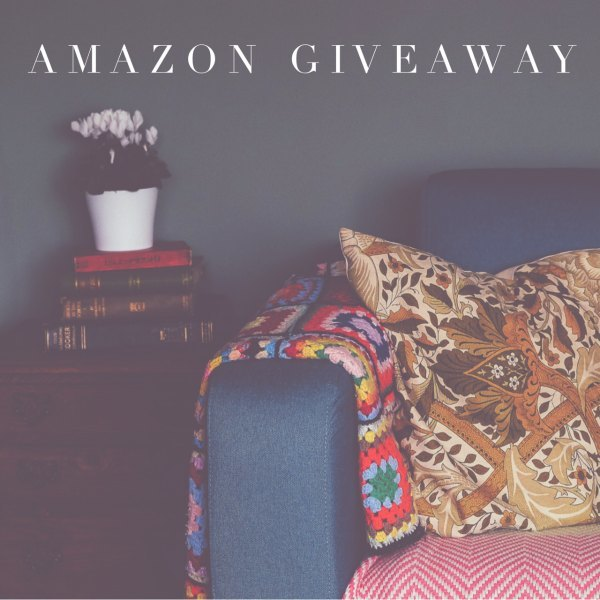 March Amazon Giveaway ends 4/12/17