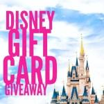 April Disney Gift Card Giveaway