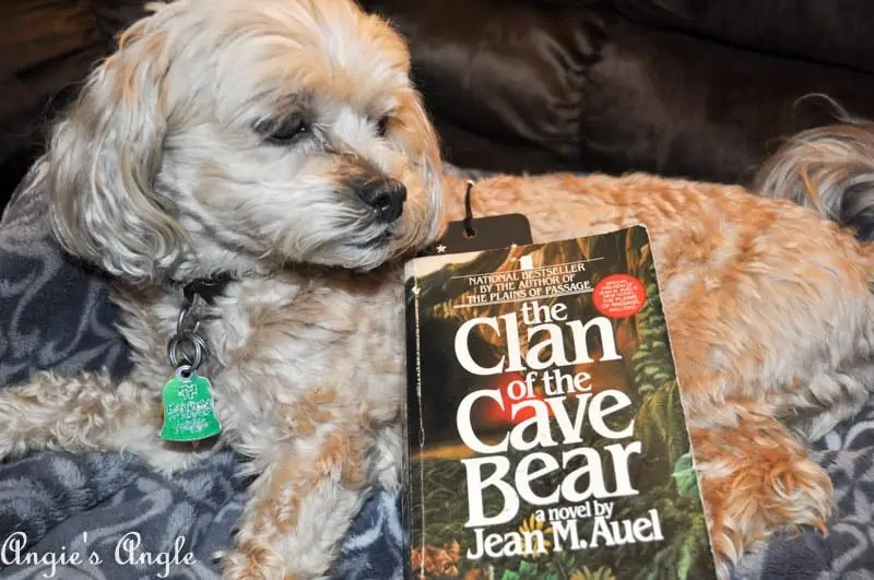 2017 Catch the Moment 365 Week 18 - Day 121 - Currently Reading Clan of the Cave Bear