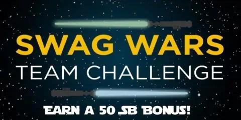 Swag Wars Team Challenge
