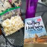 2017 Catch the Moment 365 Week 22 - Day 150 - Snack and Reading