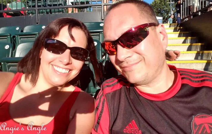 2017 Catch the Moment 365 Week 29 - Day 203 - Portland Thorns Game
