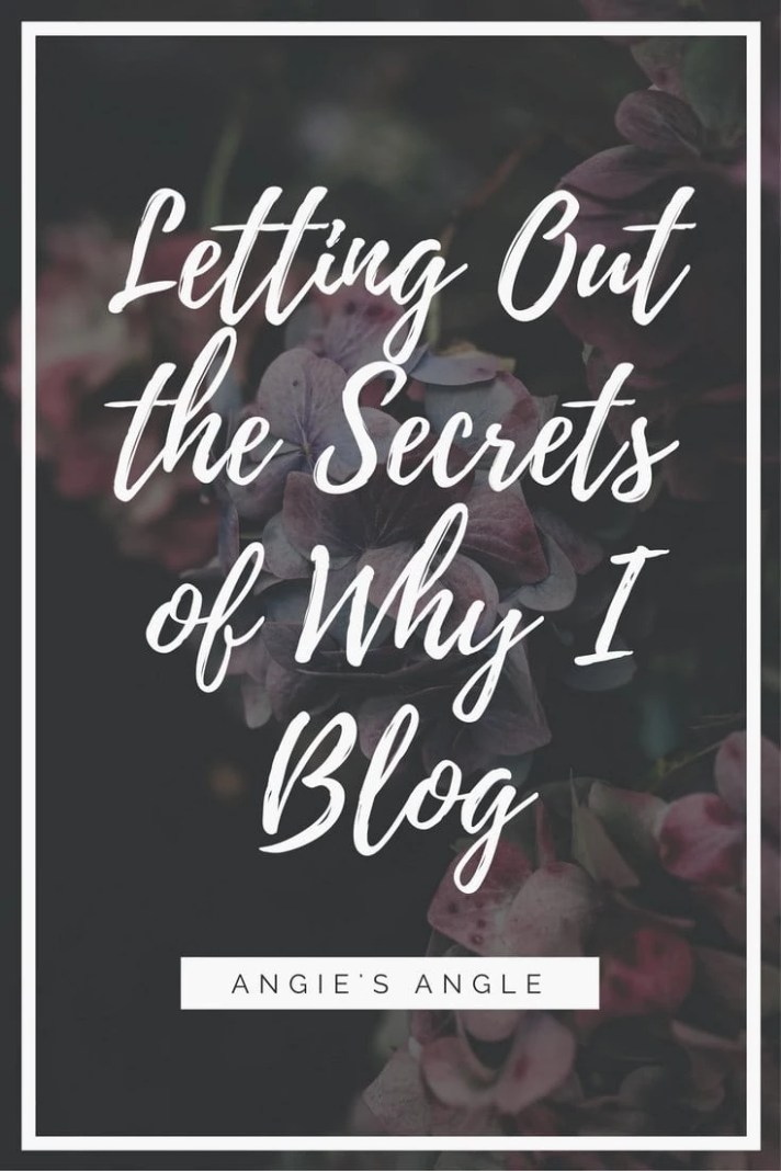 Starting out the Ultimate Blog Challenge on Day 2 with the Secrets of Why I Blog. There are reasons behind why I do what I do and these are some.