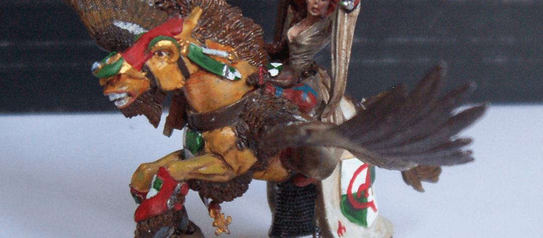 Damsel on Pegasus