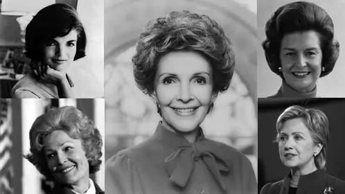 A Charming View of First Ladies
